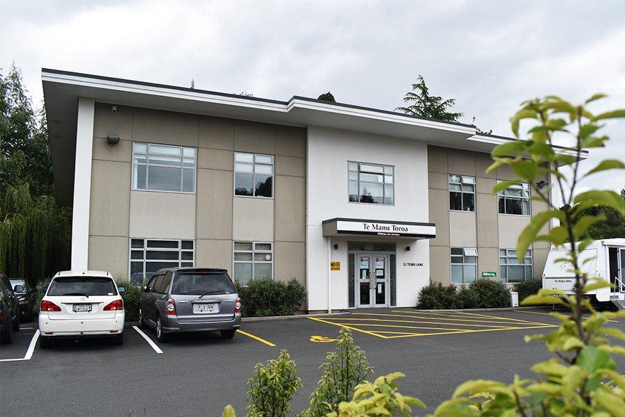 Tauranga Moana CIty GP Clinic front entrance