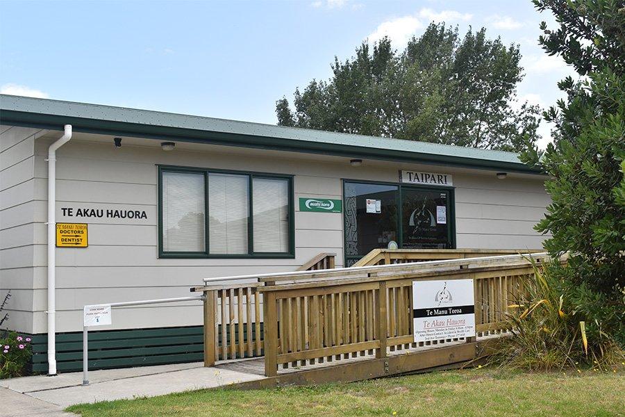 Te Akau Hauora GP Clinic Entry