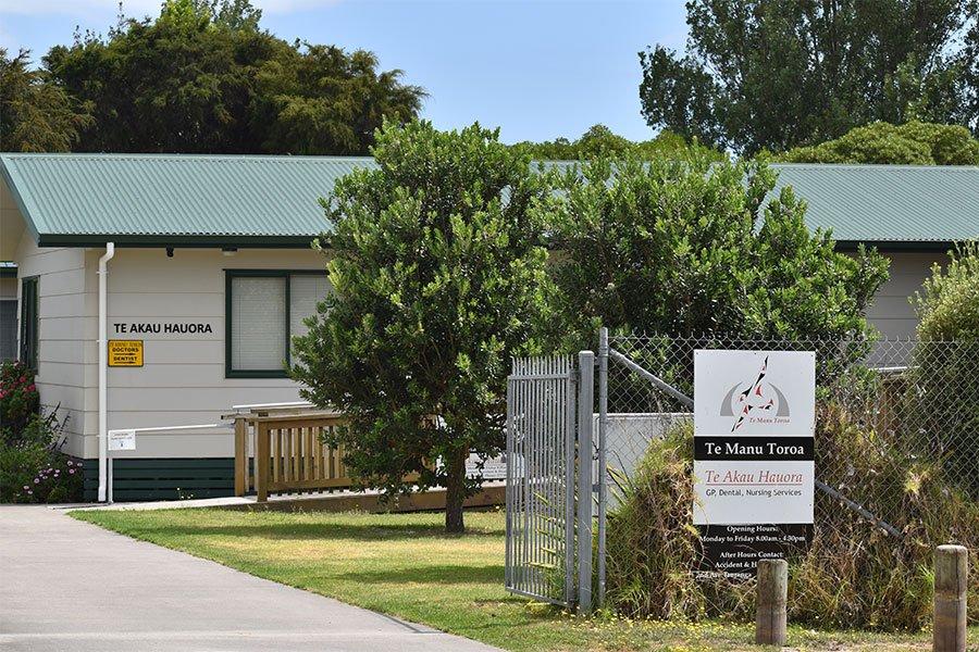 Te Akau Hauora GP Clinic main entry