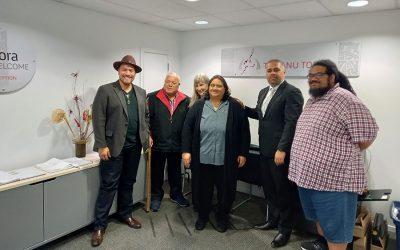 Associate Minister of Health visits Te Manu Toroa